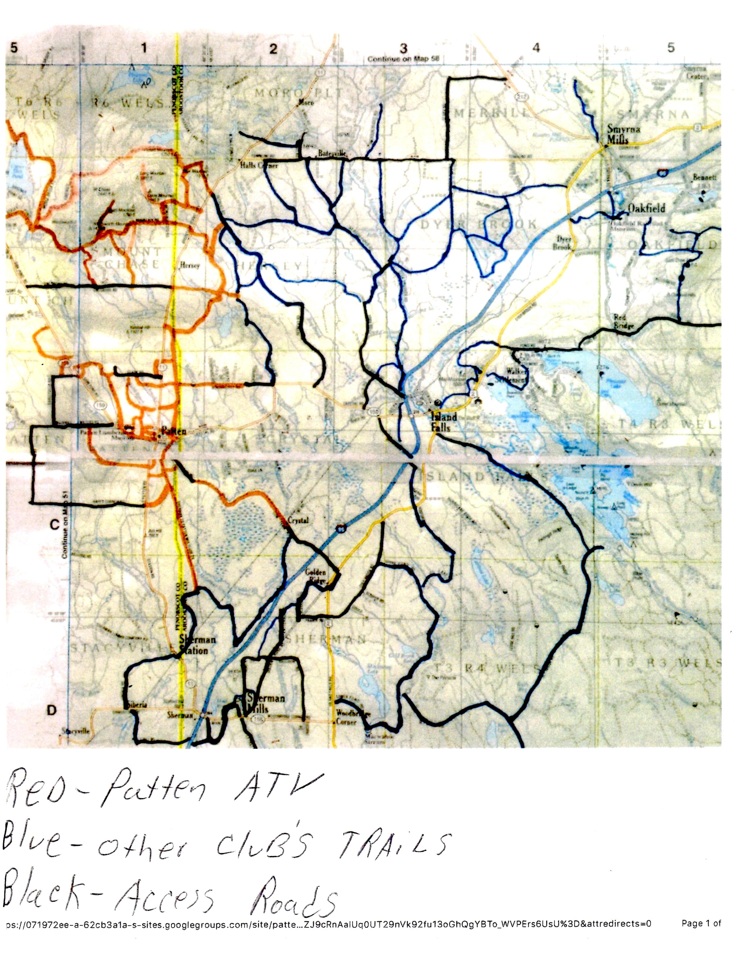 Patten ATV Trail Maps Now Available - Town of Patten