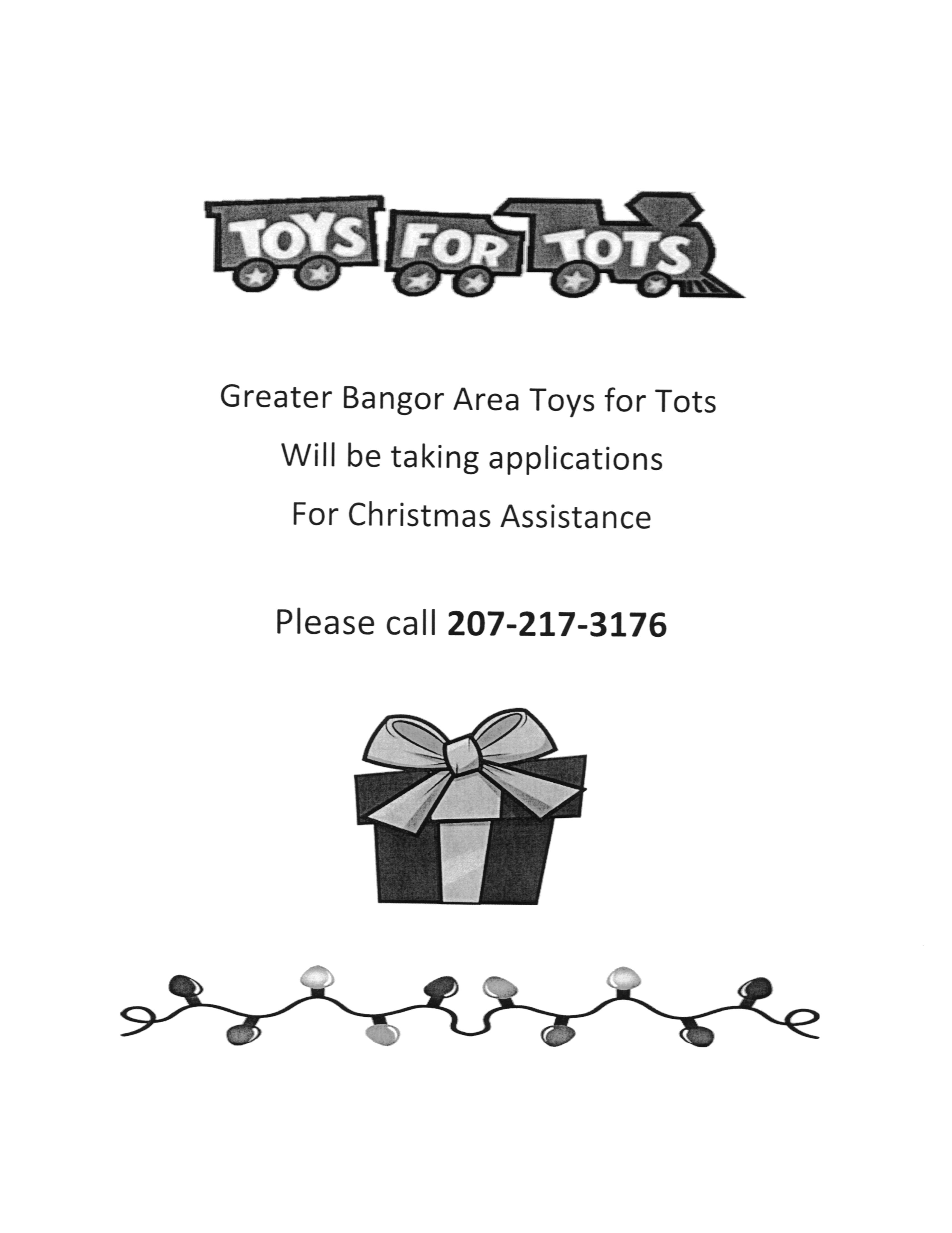 Toys For Tots 2017 Poster : Toys for tots poster and application town of patten